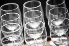 вино голубых стекел dof отмелое Стоковое фото RF