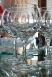вино голубых стекел dof отмелое Стоковые Фотографии RF