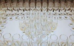 вино голубых стекел dof отмелое Стоковые Изображения RF