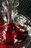 вино графинчика серебряное Стоковые Изображения