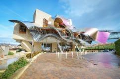 Винодельня Капера de Riscal Стоковое Изображение RF