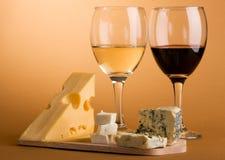 вино жизни сыра неподвижное Стоковое фото RF