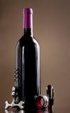 вино затвора штопора бутылки Стоковое фото RF