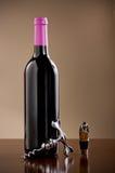 вино затвора штопора бутылки Стоковые Фотографии RF