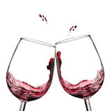 вино здравицы Стоковое фото RF