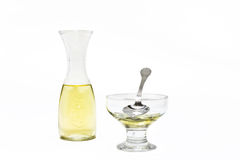 вино ингридиентов белое Стоковые Фотографии RF