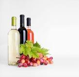 Вино и виноградины Стоковые Фотографии RF