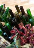 Вино и паприка Стоковое Изображение RF