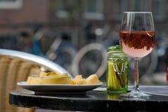Вино и сыр Стоковые Фотографии RF