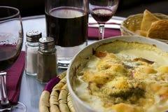 Вино и сыр стоковое фото