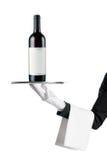 вино кельнера бутылки Стоковое Фото