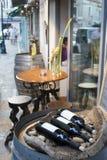 вино магазина Стоковое Изображение
