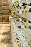 вино магазина Стоковая Фотография