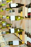 вино магазина Стоковая Фотография RF