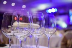 вино обеда пляжа стеклянное Стоковое Изображение RF