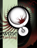 вино плаката рогульки 2 конструкций стоковые фото