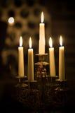 вино погреба candleholder Стоковое Изображение RF