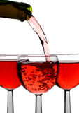 вино потока Стоковое Фото