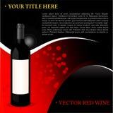вино предпосылки красное иллюстрация штока