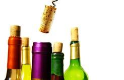 вино пробочки стоковое изображение rf