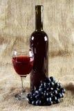 вино сбора винограда виноградин предпосылки красное Стоковая Фотография RF