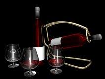 вино сбора винограда Стоковое фото RF