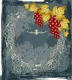 вино сбора винограда ярлыка Стоковые Фотографии RF