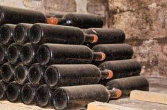 Вино собрания в бутылках Стоковое фото RF
