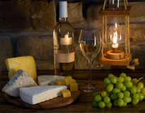 вино состава белое Стоковое Фото