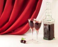 вино состава красное Стоковая Фотография