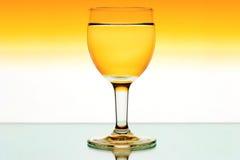 вино стекел backlight Стоковая Фотография