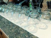 вино стекел stemless Стоковые Изображения