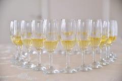 вино стекел белое Стоковые Фотографии RF