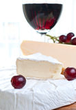 вино сыра красное Стоковое Изображение RF