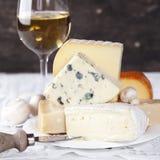 вино сыра стоковые изображения rf