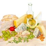 вино сыра Стоковое Изображение RF