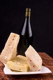 вино сыра Стоковые Фотографии RF