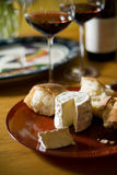 вино сыра Стоковые Изображения
