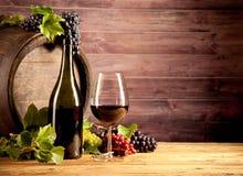 Вино с бочонком стоковые изображения