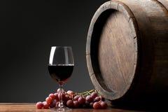 Вино с бочонком стоковое фото rf
