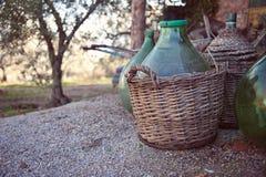 вино Тосканы кувшина стоковое изображение rf