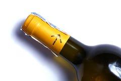 вино шкафа бутылки старое Стоковые Фото