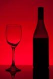 вино шкафа бутылки старое Стоковое фото RF