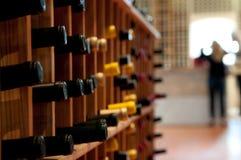 вино шкафа Стоковые Изображения