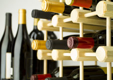 вино шкафа Стоковые Фото