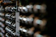 вино шкафа Стоковые Изображения RF