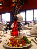 вино шримса моря еды Стоковые Изображения RF