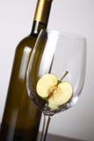 вино яблока белое Стоковое фото RF