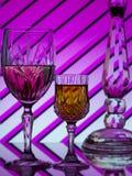 вино 2 предпосылки цветастое striped стоковое фото rf