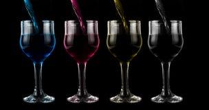 Вино Cmyk Стоковая Фотография RF